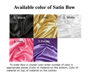 Satin Bow to the Collar FurBow®