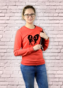 Bluza Papillon | Poppy Red