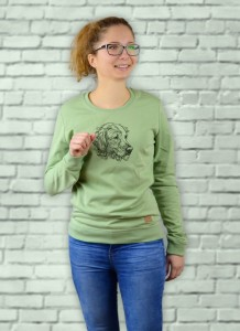 Bluza Golden Retriever Profil | Mistletoe
