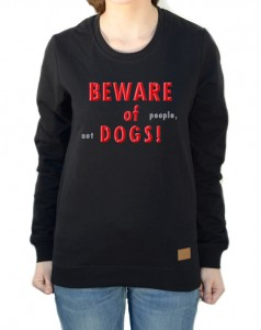 Bluza Beware of... | Black