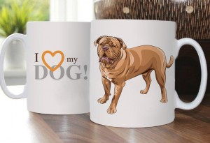 Cup with Dogue de Bordeaux 2