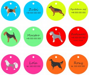 Dogs tags  Doggie