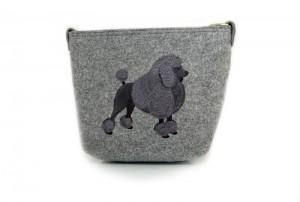 Felt Bag- Caniche