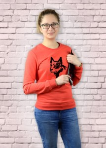 Bluza Australian Cattle Dog | Poppy Red